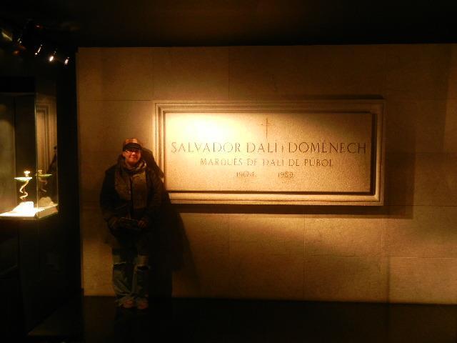 Dali's Burial Site