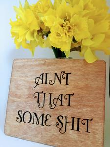 Funny Wood Sign Home Decor